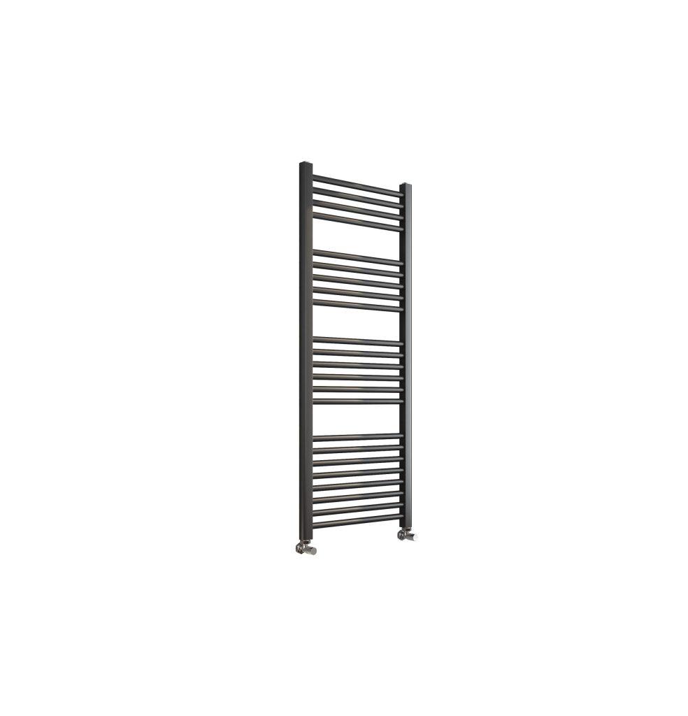 Sorento 500x1600 Flat Black Towel Rail