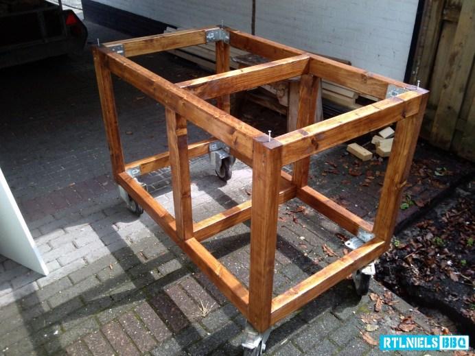 Originele BBQ meubel (Frame)