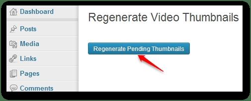 Regenerate pending thumbnails.