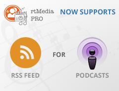 rtMedia-PRO RSS & podcast