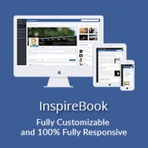 InspireBook for rtMedia & BuddyPress
