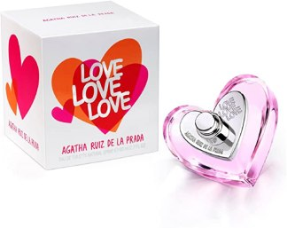 AGATHA RUIZ DE LA PRADA LOVE LOVE LOVE EDT 80 ML