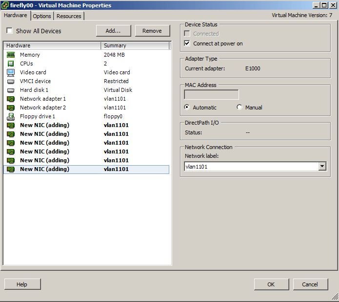 Firefly Perimeter Cluster (VSRX) Setup on Vmware ESX