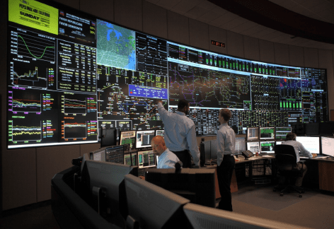PJM Control Room (source: PJM Interconnection, LLC)