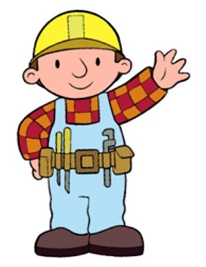 [Picture of Children's character Bob the Builder]