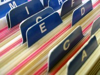 [Picture of filing system - classification, grouping, sorting]
