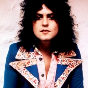 [Picture of Marc Bolan of TRex]