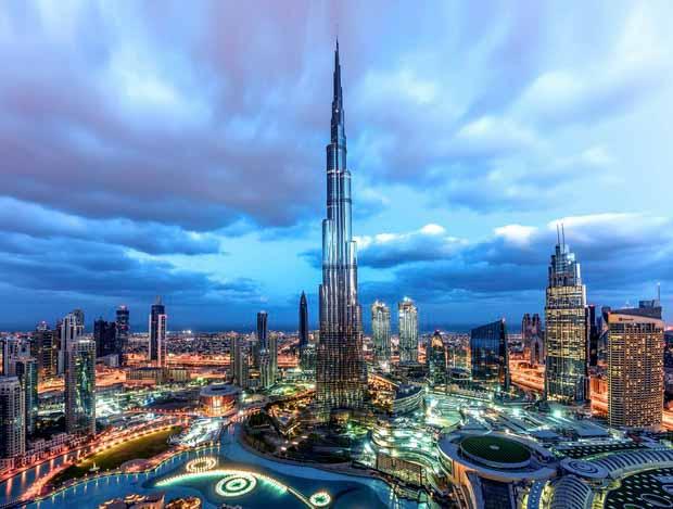 Россия демонстрирует самый высокий показатель роста турпотока в Дубай
