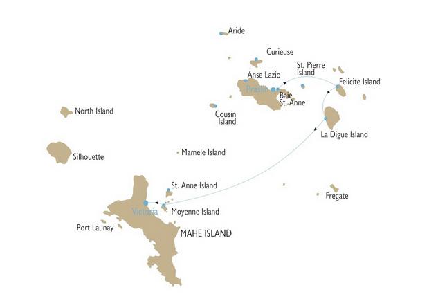 Где встретить Новый год? — В мегакруизе по Сейшелам!