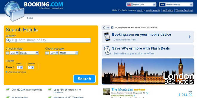 Турагентство пожаловалось на Booking.com в ФАС