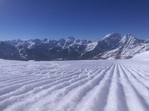 Горнолыжный сезон продолжается насклонах Эльбруса вКабардино-Балкарии