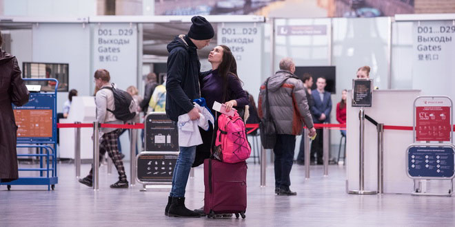 Пулково увеличил пассажиропоток за два месяца 2018 года на 8%