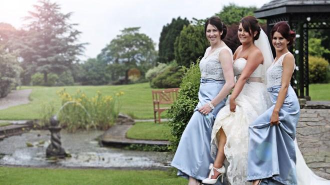 wedding videography at Mytton Fol