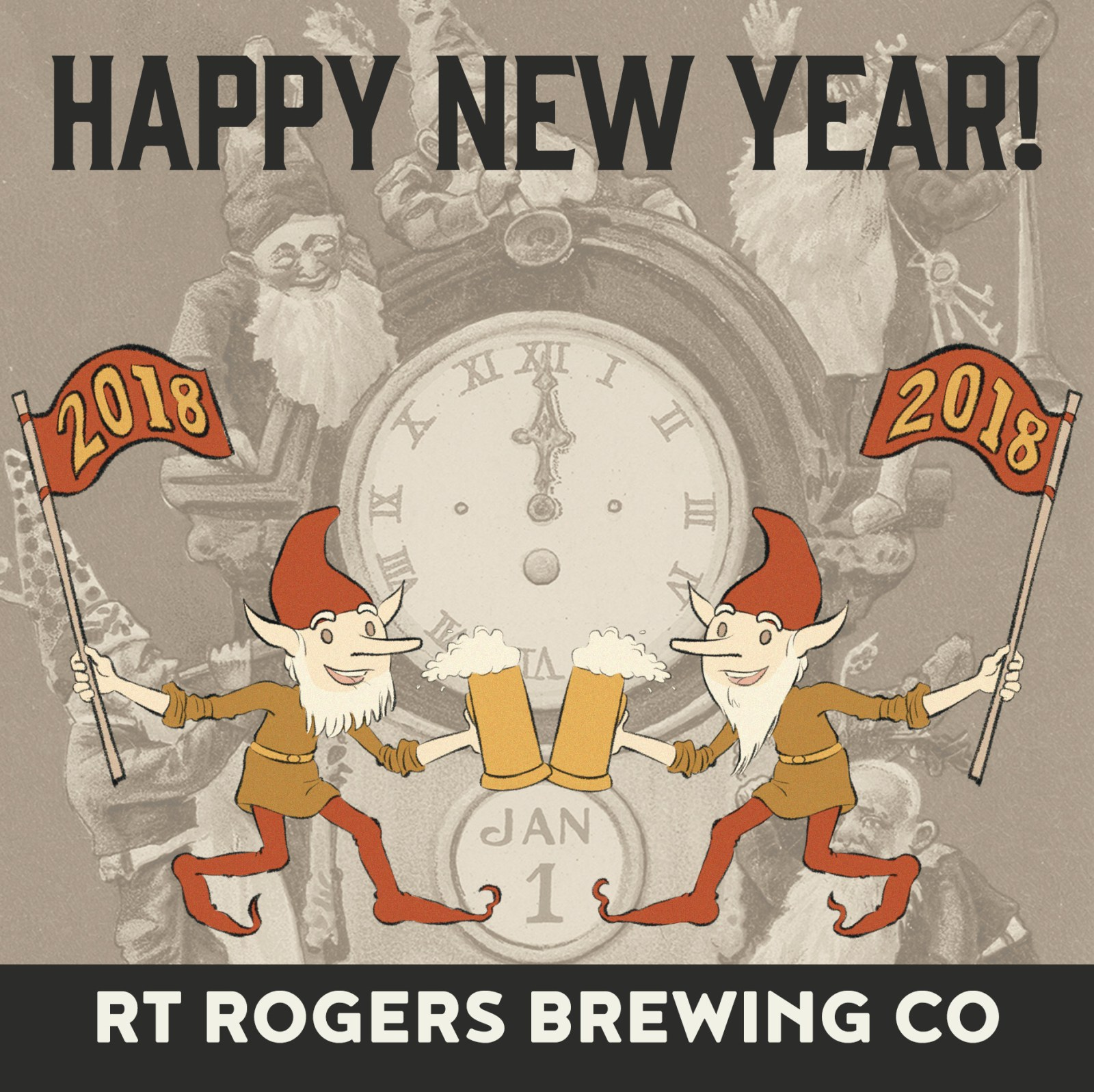Happy New Year From RT Rogers Brewing Co |
