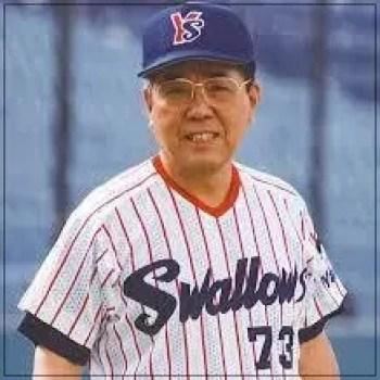 野村克也,ノムさん,野球,若い頃,イケメン,ヤクルトスワローズ時代