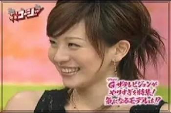 大橋未歩,フリーアナウンサー,若い頃,可愛い,2007年