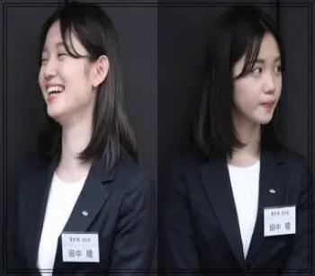 田中瞳,アナウンサー,テレビ東京,可愛い,入社当時