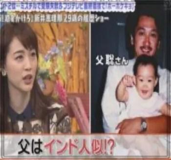 新井恵理那,アナウンサー,セント・フォース,かわいい,父親