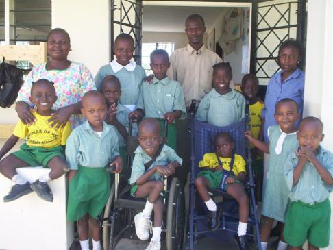 Kids des Special Needs Unit im Jahr 2006