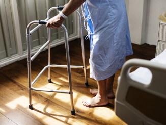 elderly in hospital