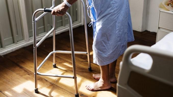 elderly in hospital