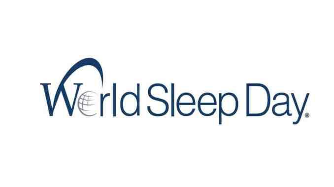 world sleep day logo