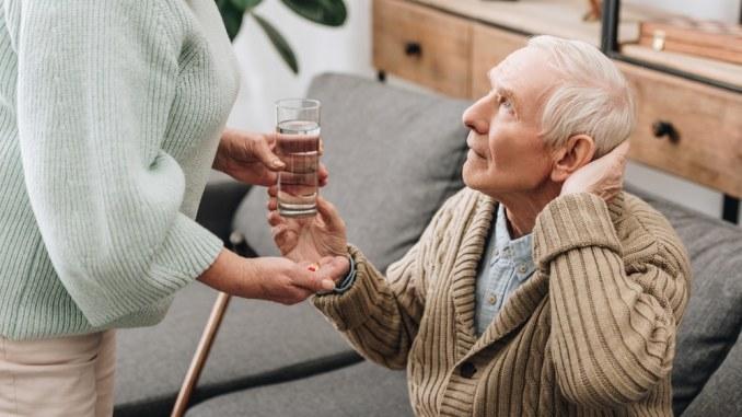 elderly man COVID-19 Related Drug Shortages
