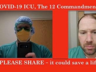 nick pastron covid-19 icu 12 commandments
