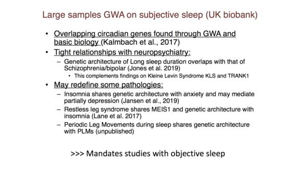 large samples gwa