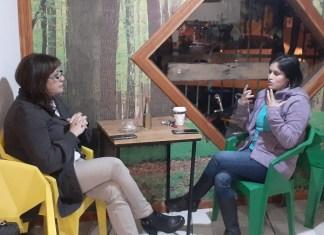 NANCY PUENTES Concejala electa busca redes de apoyo