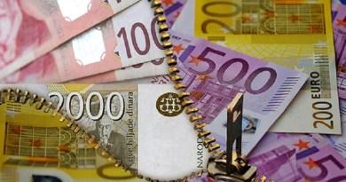 Evro danas 118,13 dinara