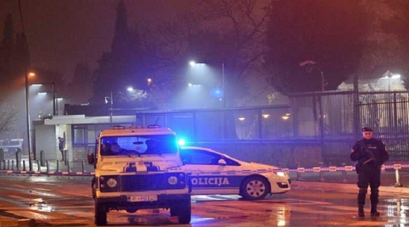 Bacio bombu na ambasadu SAD u Podgorici pa se ubio