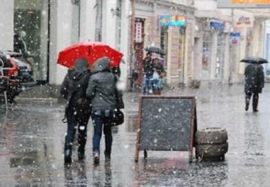Od nedelje drastičan pad temperature i sneg