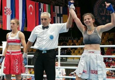 Ajla Lukač i Saida Bukvić u finalu Evropskog prvenstva u Bratislavi