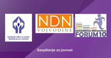 NVO traže posmatrača rada komisije za sufinansiranje medija