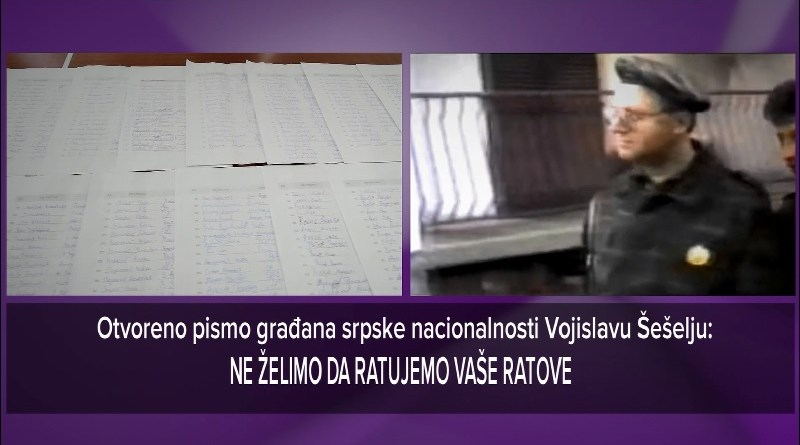 Srbi iz Novog Pazara pisali Šešelju zbog napada na Rasima Ljajića