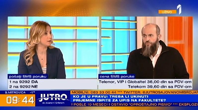 """Zukorlić nastavio sa """"šešeljevskom retorikom"""""""