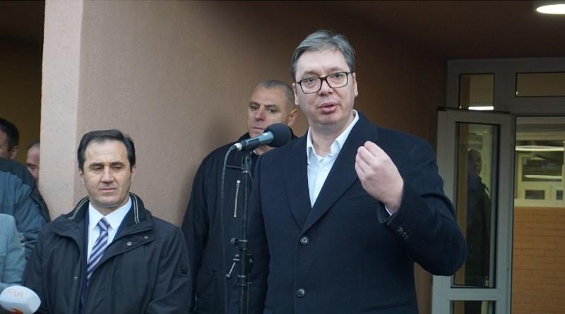 Vučić u Tutinu: Dolazim s Erdoganom da otvorim put