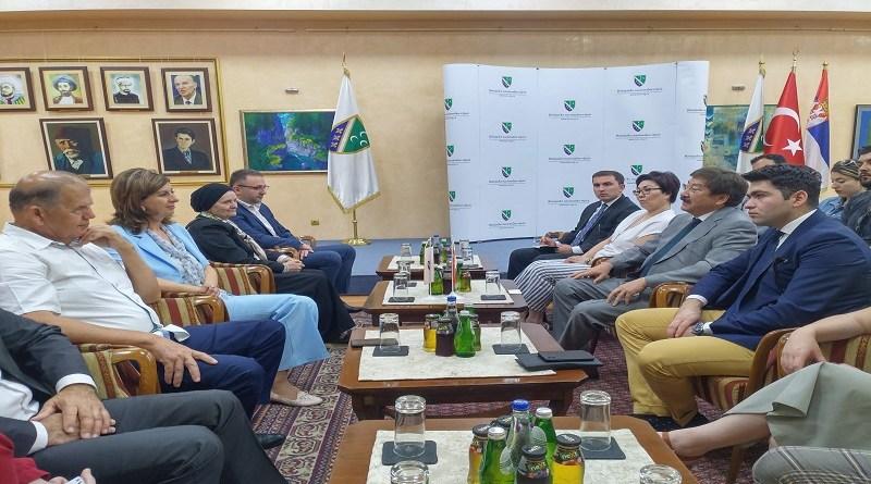 Predstavnici Međunarodne organizacije Türksoy u posjeti BNV