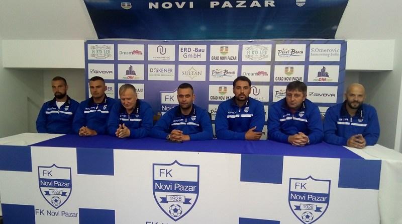 FK Novi Pazar: Gurdijeljac vodi omladince, Dimić trener kadeta