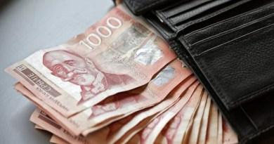 Dinar miruje, srednji kurs ovog petka je 117,7502