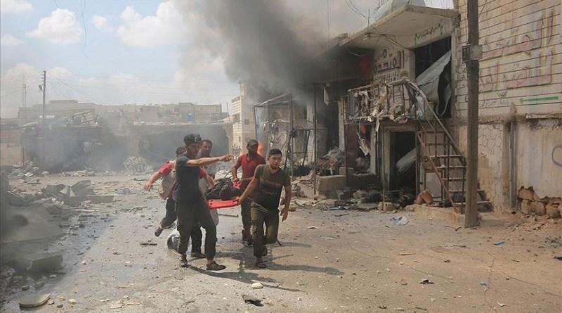 U zračnim napadima u Idlibu jučer ubijeno najmanje 50 civila