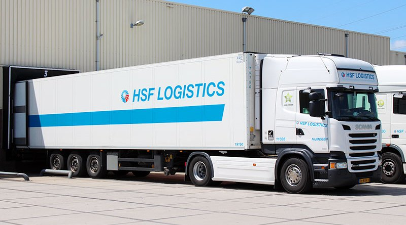 hsf logistics truck