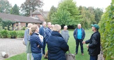 bezoek euregio VVVs aan Winterswijk