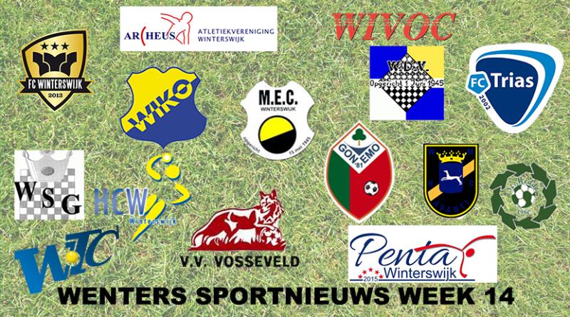 Sportnieuws plaatje week 14