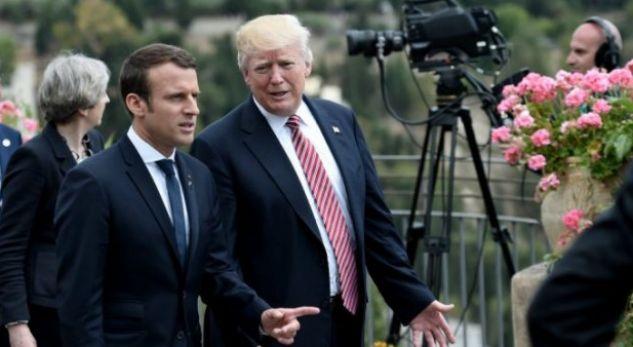 Trump ftonë Macronin në darkë