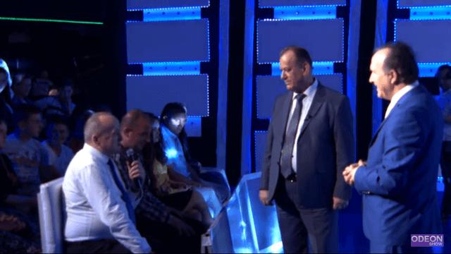 Musa Ferati bashkë me Mahmut Feratin në emisionin Odeon