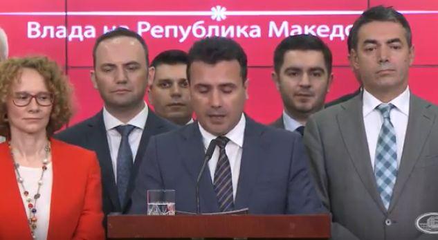 Zaev: Emri do të jetë Republika e Maqedonisë së Veriut