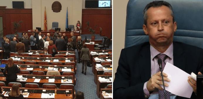 Me ndihmën e BDI-së,Kuvendi nuk i hoqi imunitetin deputetit Veljanovski