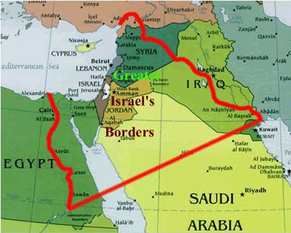 """""""Greater Israel"""" will be built on the bones of Arabs"""